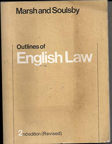 9780070842304: Outlines of English law (McGraw-Hill series for business studies)