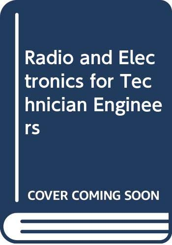 9780070842427: Radio and Electronics for Technician Engineers (Technician education series)