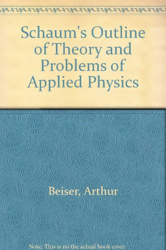 9780070843516: Schaum's Outline of Theory and Problems of Applied Physics