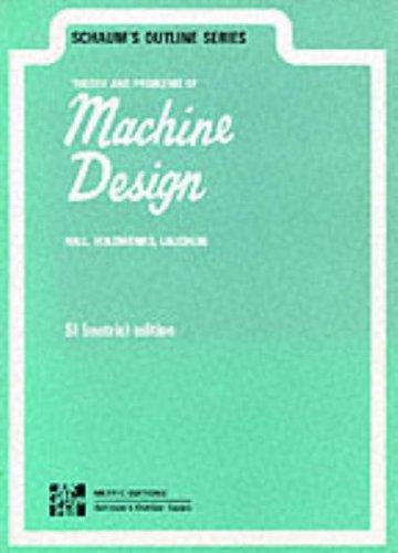 9780070843523: Schaum's Outline of Machine Design
