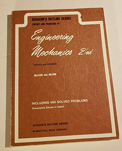 9780070843547: Theory and Problems of Engineering Mechanics (Schaum's Outline Series)