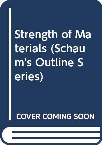 9780070843660: Strength of Materials (Schaum's Outline Series)
