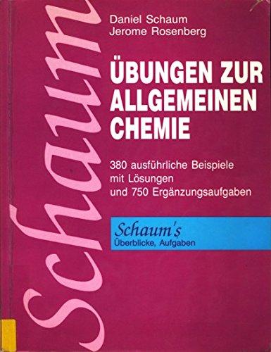 9780070843745: Übungen zur Allgemeinen Chemie. 380 Lösungsbeispiele und 750 Ergänzungsaufgaben mit Lösungen