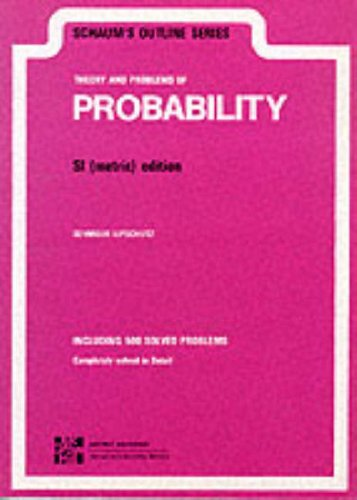9780070843776: Schaum's Outline of Theory and Problems of Probability
