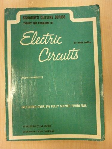 9780070843974: Schaum's Outline of Electric Circuits (Schaum's outline series)