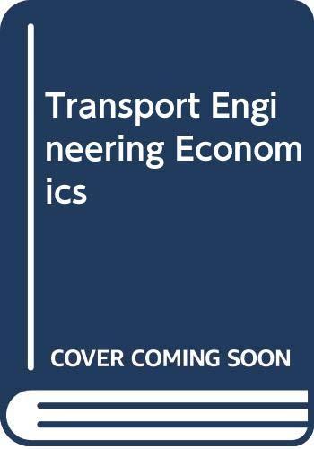9780070844056: Transport Engineering Economics