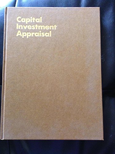 Capital Investment Appraisal (McGraw-Hill management manuals): Harrison, Ian W.