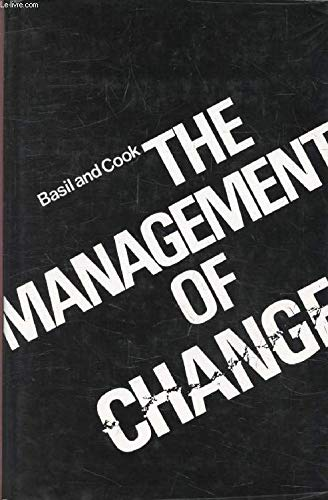 9780070844407: Management of Change (McGraw-Hill European series in management)