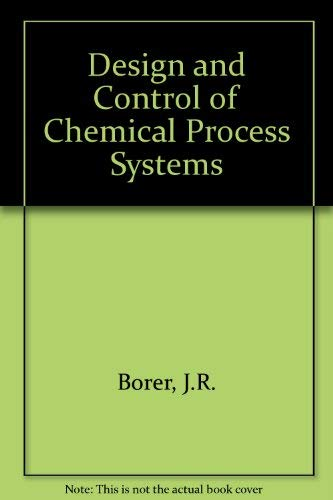 9780070844476: Design and control of chemical process systems