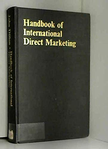 9780070844735: Handbook of International Direct Marketing