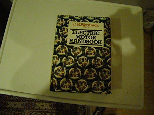 9780070844889: Electric Motor Handbook