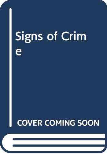 9780070844995: Signs of Crime