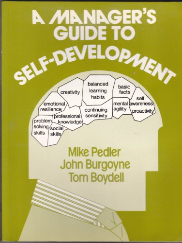 9780070845008: A Manager's Guide to Self-development