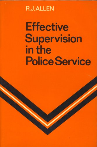 9780070845046: Effective Supervision in the Police Service