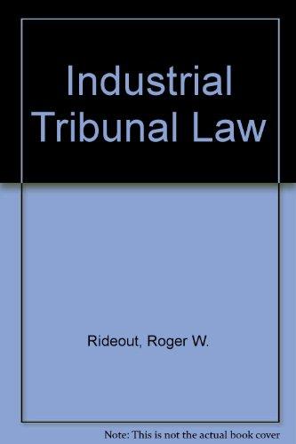 9780070845329: Industrial Tribunal Law