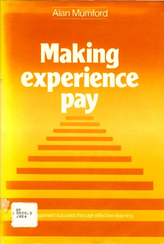 9780070845367: Making Experience Pay