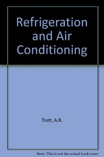 9780070845435: Refrigeration and Air Conditioning