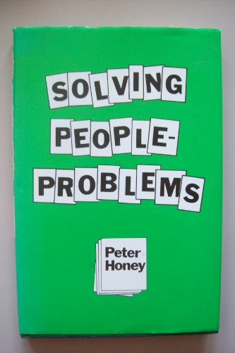 9780070845442: Solving People-problems