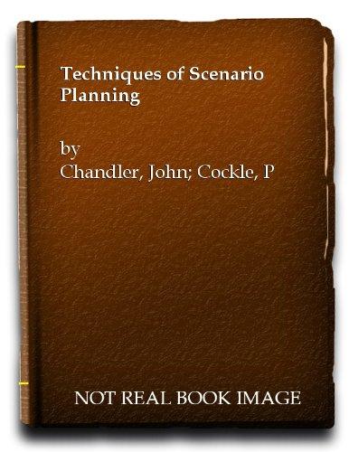 9780070845701: Techniques of Scenario Planning