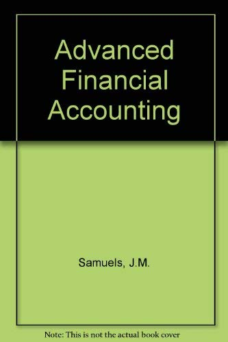 9780070845718: Advanced Financial Accounting