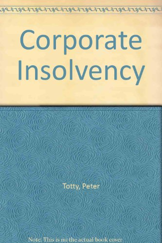 9780070845824: Corporate Insolvency