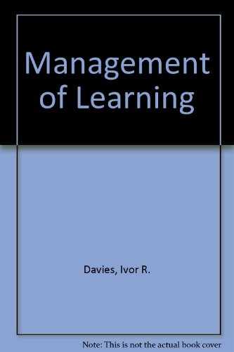 9780070845831: Management of Learning