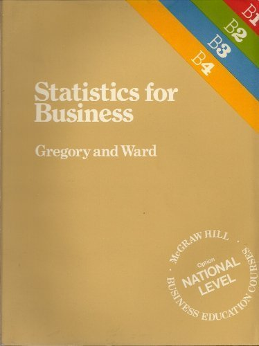 9780070846067: Statistics for Business (McGraw-Hill business education courses)