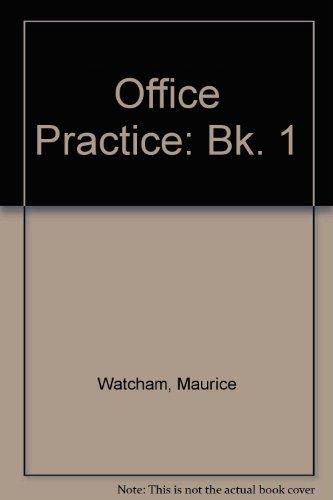 9780070846128: Office Practice: Bk. 1