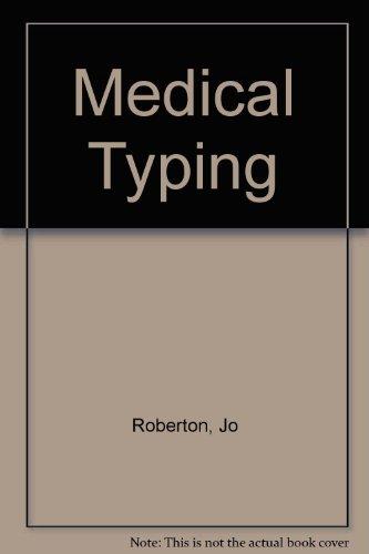 9780070846142: Medical Typing
