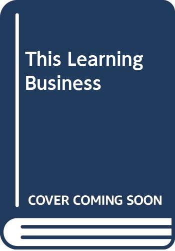 9780070846272: This learning business: Assignments for pre-vocational courses : student's book