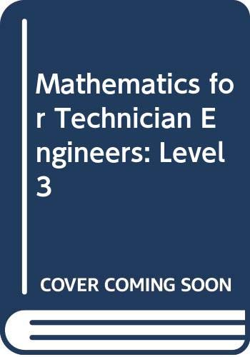 9780070846364: Mathematics for Technician Engineers: Level 3