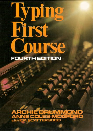 9780070846470: Typing First Course