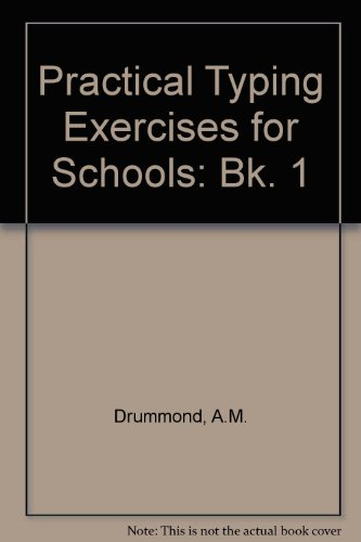 9780070846494: Practical Typing Exercises for Schools Bk. (Bk. 1)