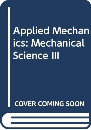 9780070846593: Applied Mechanics: Mechanical Science: Level 3