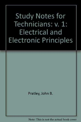 9780070846616: Study Notes for Technicians: Electrical and Electronic Principles