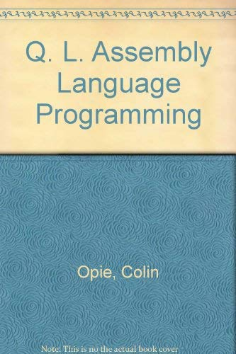 9780070847774: Q. L. Assembly Language Programming
