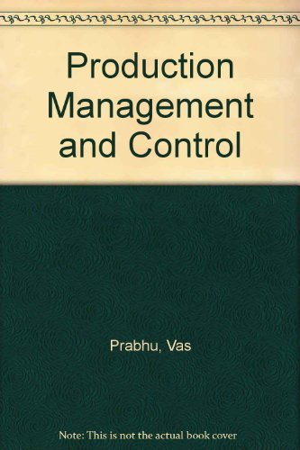 9780070849334: Production Management and Control