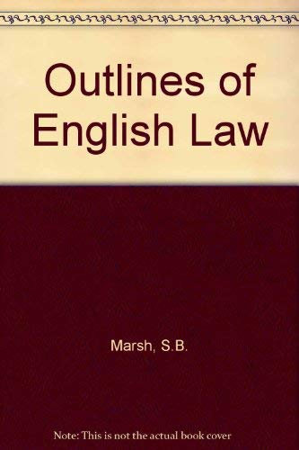 9780070849808: Outlines of English Law