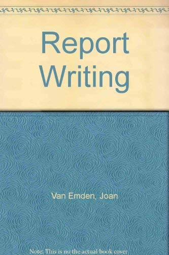 9780070849853: Report Writing
