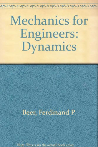 9780070850316: Mechanics for Engineers: Dynamics