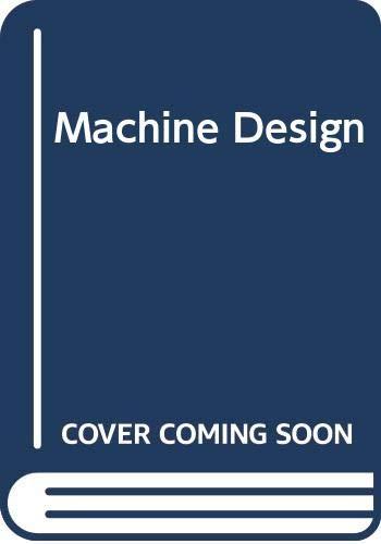 9780070850378: Machine Design