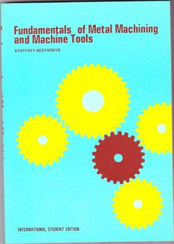 9780070850576: Fundamentals of Metal Machining and Machine Tools
