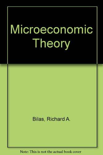 9780070850606: Microeconomic Theory