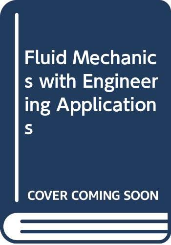 9780070851443: Fluid mechanics, with engineering applications