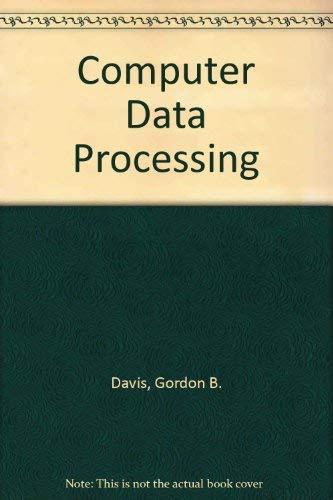 9780070851696: Computer Data Processing