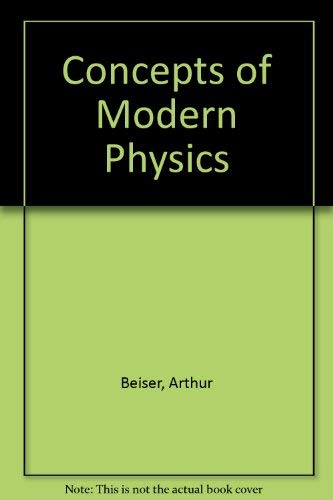 9780070851825: Concepts of Modern Physics