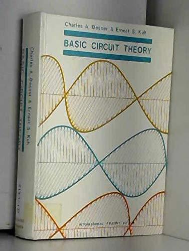 9780070851832: Basic Circuit Theory