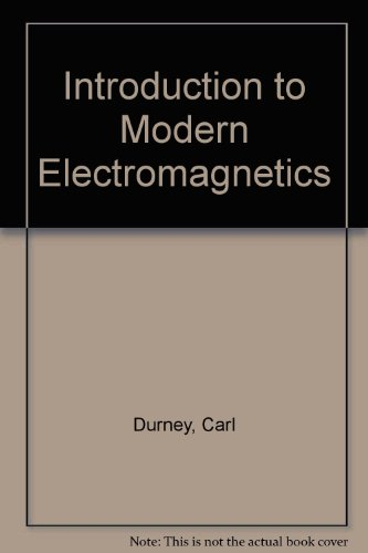 9780070851887: Introduction to Modern Electromagnetics