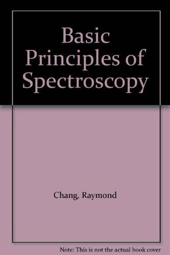 9780070851979: Basic Principles of Spectroscopy