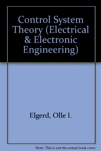 9780070852075: Control System Theory (Electrical & Electronic Engineering)